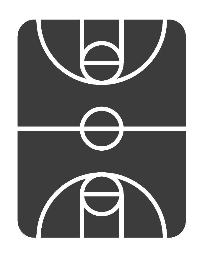 אייקון מגרש כדורסל